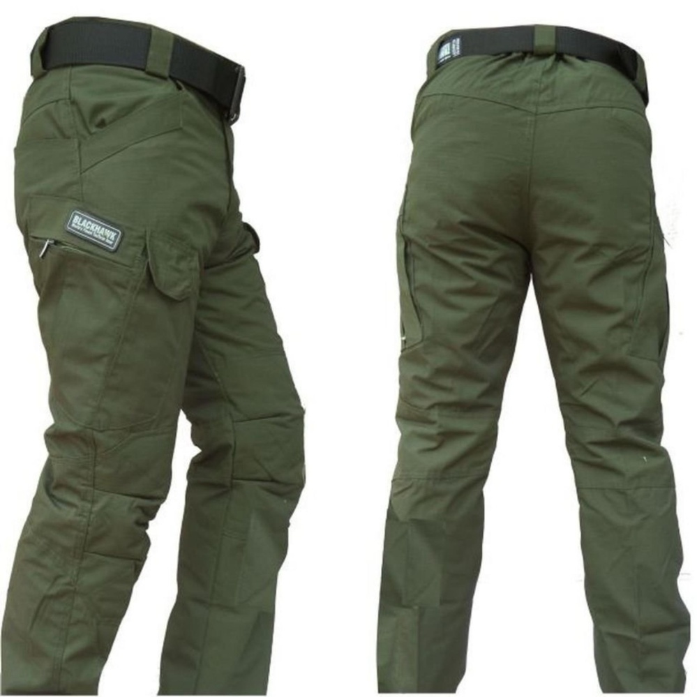 Blackhawk-Celana Tactical Blackhawk Panjang PDL Kargo Long Pants [HIJAU]
